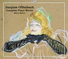 Jacques Offenbach (1819-1880): Sämtliche Klavierwerke, 3 CDs