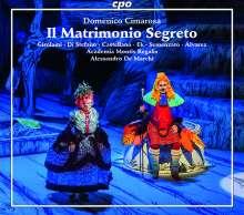 Domenico Cimarosa (1749-1801): Il Matrimonio Segreto, 3 CDs