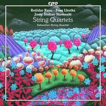 Sebastian String Quartet - Kroatische Streichquartette, CD