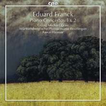 Eduard Franck (1817-1893): Klavierkonzerte Nr.1 & 2, CD