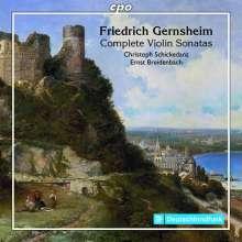 Friedrich Gernsheim (1839-1916): Werke für Violine & Klavier, 2 CDs