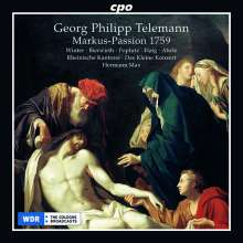 Georg Philipp Telemann (1681-1767): Markus-Passion (1759), 2 CDs