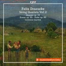 Felix Draeseke (1835-1913): Streichquartett Nr.3 (op.66), CD