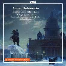 Anton Rubinstein (1829-1894): Klavierkonzerte Nr.2 & 4, CD