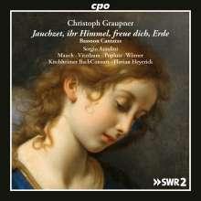Christoph Graupner (1683-1760): Kantaten mit obligatem Fagott, 2 CDs