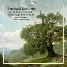 Bernhard Romberg (1767-1841): Cellokonzerte Nr.4 & 6, CD