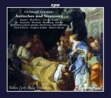 Christoph Graupner (1683-1760): Antiochus & Stratonica, 3 CDs
