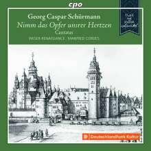 Georg Caspar Schürmann (1672-1751): Kantaten, CD