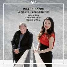 Joseph Haydn (1732-1809): Sämtliche Klavierkonzerte (H18 Nr.1-6,8,10,11), 2 CDs