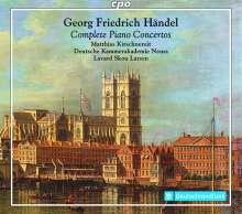 Georg Friedrich Händel (1685-1759): Klavierkonzerte Nr.1-16, 3 Super Audio CDs