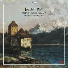 Joachim Raff (1822-1882): Streichquartette Nr.6 & 7, CD