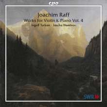 Joachim Raff (1822-1882): Violinsonaten Vol.4, CD