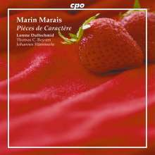 Marin Marais (1656-1728): Pieces de Violes, CD