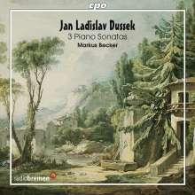 Johann Ludwig Dussek (1760-1812): Klaviersonaten Vol.1, CD