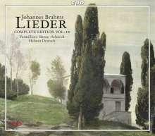 Johannes Brahms (1833-1897): Sämtliche Lieder Vol.10, 2 CDs