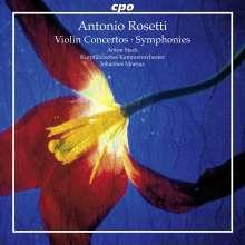 Antonio Rosetti (1750-1792): Violinkonzerte D-Dur & d-moll, CD