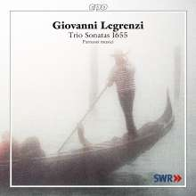Giovanni Legrenzi (1626-1690): Duo- und Triosonaten op.2 Nr.1-17 (1655), CD