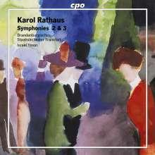 Karol Rathaus (1895-1954): Symphonien Nr.2 & 3, CD