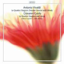 """Antonio Vivaldi (1678-1741): Concerti op.8 Nr.1-4 """"Die vier Jahreszeiten"""" (Dresdner Fassung mit Bläsern), Super Audio CD"""