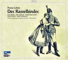 Franz Lehar (1870-1948): Der Rastelbinder, 2 CDs