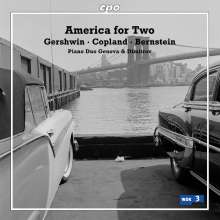 Piano Duo Genova & Dimitrov: America for Two, CD
