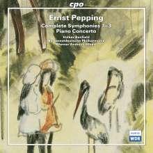 Ernst Pepping (1901-1981): Symphonien Nr.1-3, 2 CDs