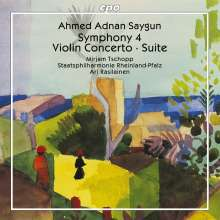 Ahmed Adnan Saygun (1907-1991): Symphonie Nr.4, CD