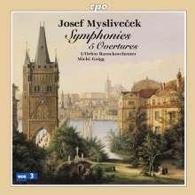 Josef Myslivecek (1737-1781): Symphonien & Ouvertüren, 2 CDs