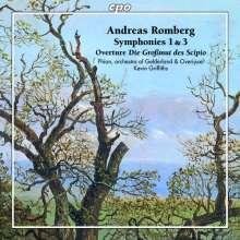 Andreas Romberg (1767-1821): Symphonien Nr.1 & 3, CD