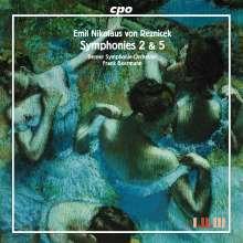 Emil Nikolaus von Reznicek (1860-1945): Symphonien Nr.2 & 5, CD