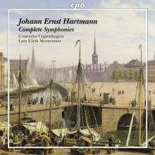 Johann Ernst Hartmann (1726-1793): Symphonien Nr.1-4, CD