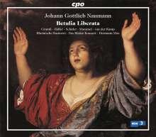 Johann Gottlieb Naumann (1741-1801): Betulia Liberata (Oratorium), 2 Super Audio CDs