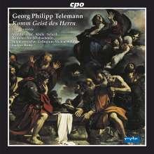 Georg Philipp Telemann (1681-1767): Späte Kantaten, CD