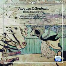 Jacques Offenbach (1819-1880): Werke für Cello & Orchester, CD