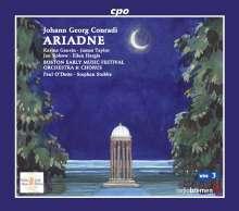 Johann Georg Conradi (1645-1699): Ariadne, 3 CDs