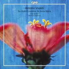 """Antonio Vivaldi (1678-1741): Violinkonzerte """"per Anna Maria"""" (RV229,248,343,349,366,387), SACD"""