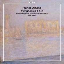 Franco Alfano (1875-1954): Symphonien Nr.1 & 2, CD