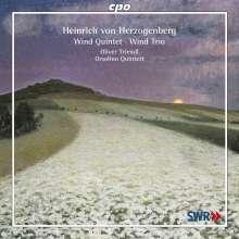 Heinrich von Herzogenberg (1843-1900): Quintett op.43 für Oboe, Klarinette, Horn, Fagott & Klavier, CD