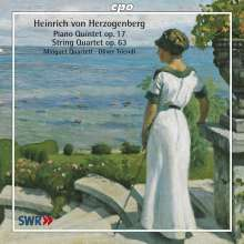 Heinrich von Herzogenberg (1843-1900): Streichquartette Vol.1, CD