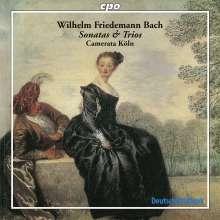 Wilhelm Friedemann Bach (1710-1784): Sonaten für 2 Flöten & Bc F.47-49, CD