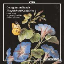 Georg Anton Benda (1722-1795): Cembalokonzerte in f, F, G & h, Super Audio CD
