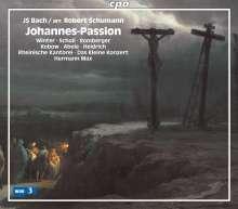 Johann Sebastian Bach (1685-1750): Johannes-Passion (Bearbeitung von Robert Schumann), 2 SACDs
