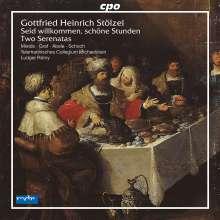 Gottfried Heinrich Stölzel (1690-1749): Zwei Serenaden, 2 CDs