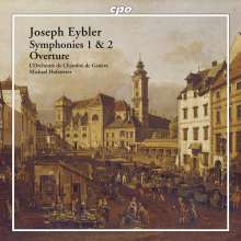 Joseph Eybler (1765-1846): Symphonien Nr.1 & 2, SACD