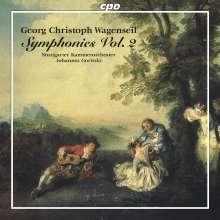 Georg Christoph Wagenseil (1715-1777): Symphonien Vol.2, CD