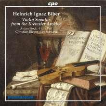 Heinrich Ignaz Biber (1644-1704): Violinsonaten aus dem Archiv in Kremsier, Super Audio CD