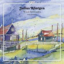Julius Röntgen (1855-1932): Kammermusik für Bläser, CD