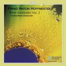 Franz Anton Hoffmeister (1754-1812): Serenaden für Bläser Vol.2, CD