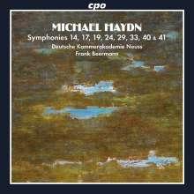 Michael Haydn (1737-1806): Symphonien Nr.14,17,19,24,29,33,40,41, 2 CDs
