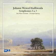 Johann Baptist Wenzel Kalliwoda (1801-1866): Symphonien Nr.5 & 7, CD